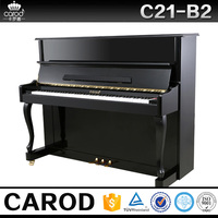 Carod concert musica piano flexible keyboard black piano from china music instrument
