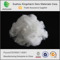 china recycled colored dope dyed polyester staple fiber