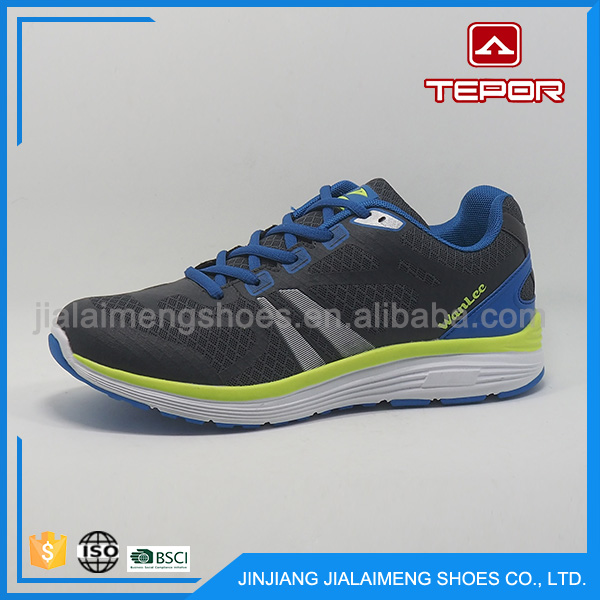 Manufacture breathable fashion cheap latest design sports shoes
