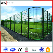 Cheap Temporary Metal Double Horizontal Wire Fence Panel Powder Coated Welded Wire Mesh Fence Panels Hot Sale