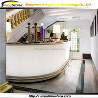 Lunge bar artificial stone sink for bar counter