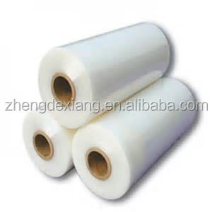 Hot Pack Airport Luggage Wrap Pallet Wrappping Film LLDPE Packaging Film