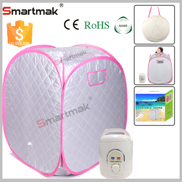 Manufacturer wholesale Wet Steam Function and Sauna Rooms Type inflatable portable steam sauna