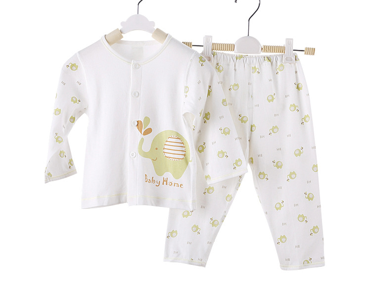 Cheap Custom seamless sawing line organic baby boy clothes underwear set