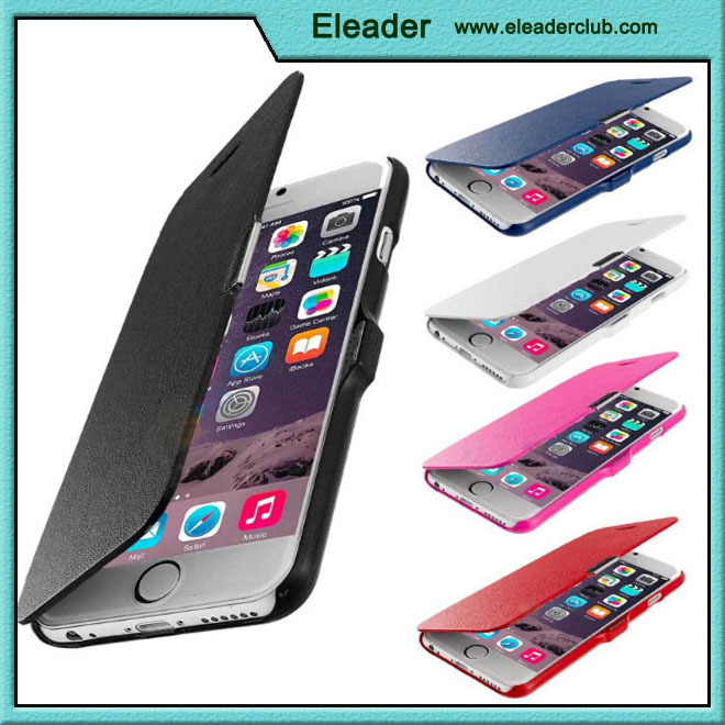 "PREMIUM MAGNETIC THIN FLIP PU LEATHER CASE COVER FOR IPHONE 6 4.7"" 6 PLUS 5.5"""
