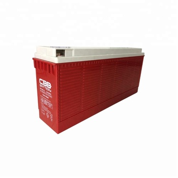 12V 100AH Front Terminal Solar AGM Battery for Telecom, Hospital