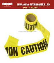 Anti-corrosion font labeling section segregation Warning Tape