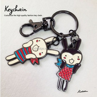 Custom made metal keychain with logo, Animals metal keyring ,Alloy keychain