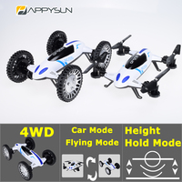 Special Offer 2016 2In1 Rc Drone Rc Stunt Toy Car 360 Degrees