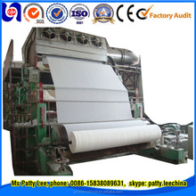 Zhengzhou Guangmao 1880mm 5-10ton per day Toilet/tissue paper manufacturing machine,paper mill,paper recycling machine price