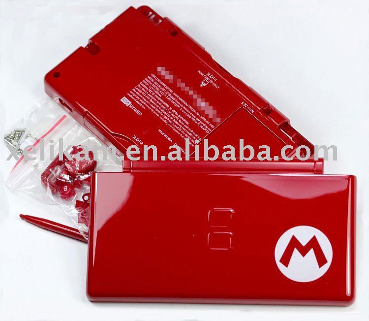 Game Repair Parts for Nintendo DS Lite Shell Case For NDSL NDS Lite DSL Full Complete Replacement Housing Cover