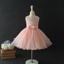 new design kids dress party fancy wedding dress bridal gown