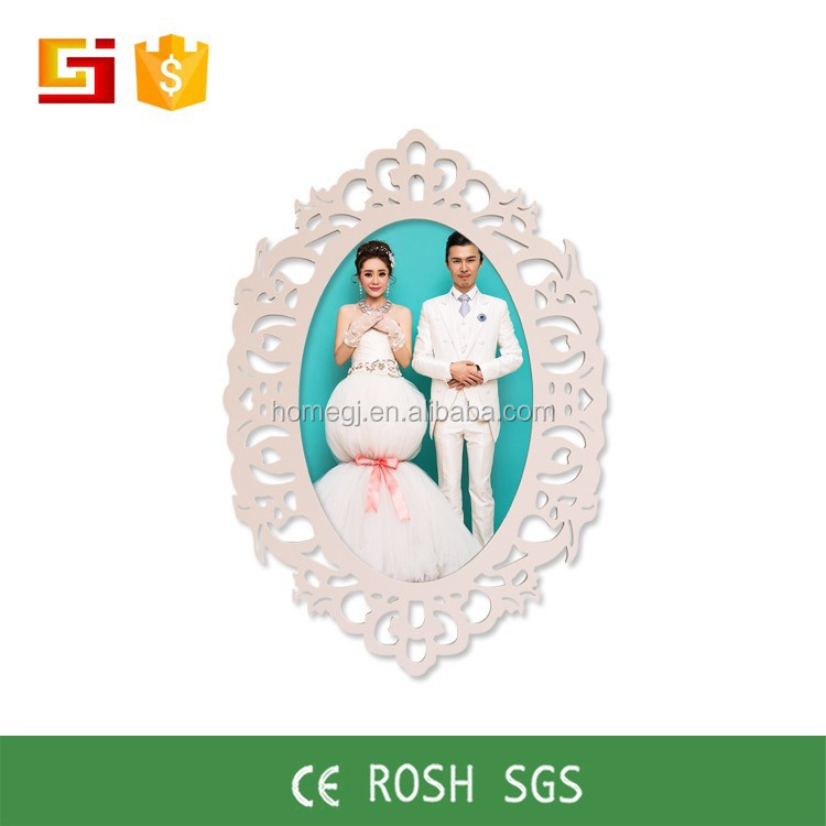 GJ-XK01 2016 latest design love oval photo frame