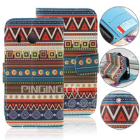 for huawei y320 case, beautiful printing wallet flip case for huawei ascend y320