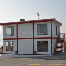 Portable Prefabricated Container House for Temporary Living Buildings