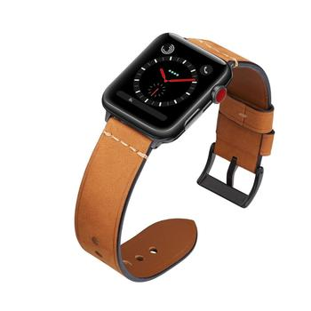 Watchbands 38mm 40mm 42mm 44mm Leather Replacement Strap For Apple Watch Series 4