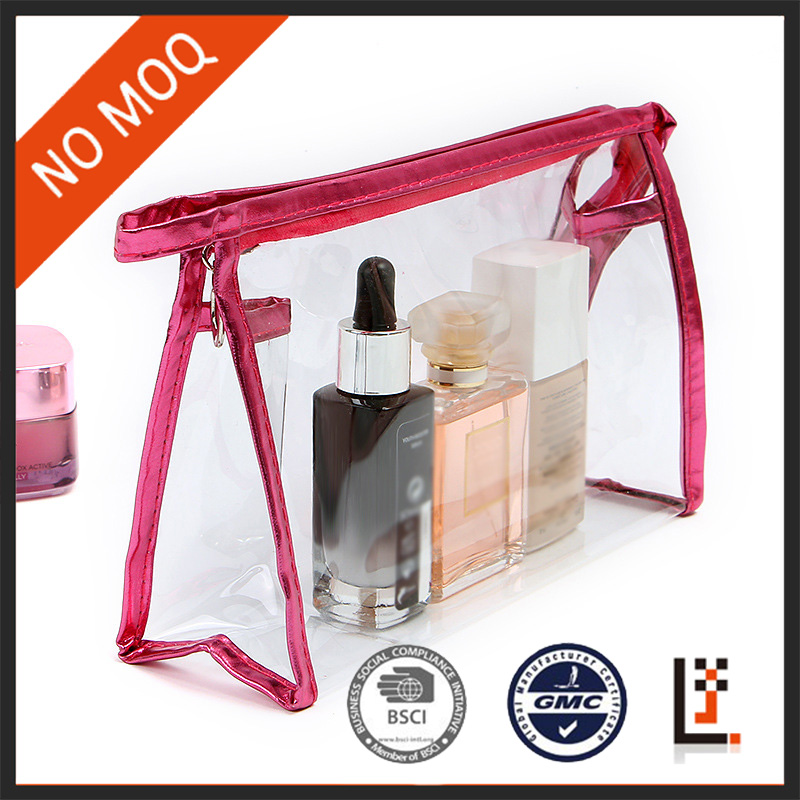 Enrich Clear Transparent PVC Cosmetic Bag for <strong>Travel</strong>