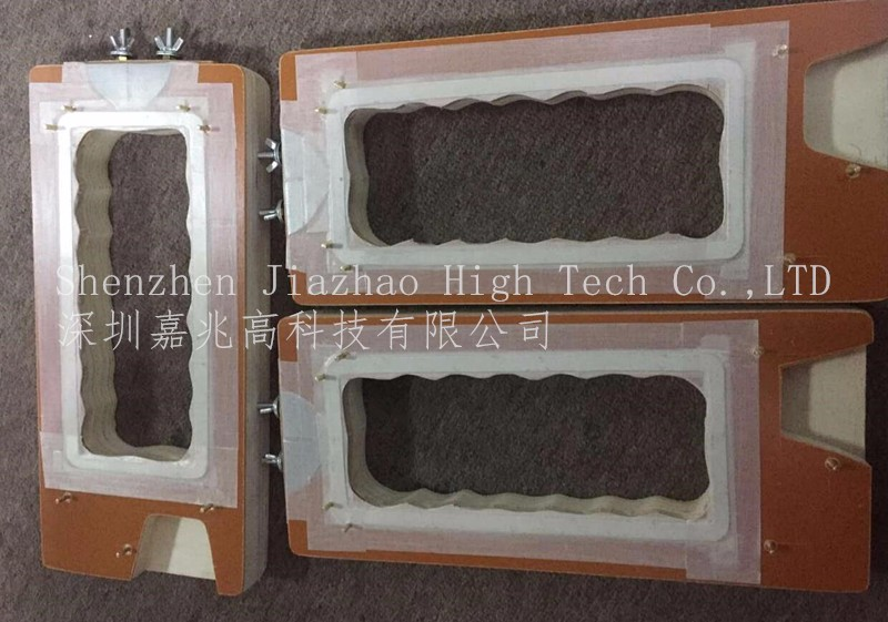 Sealing mould for pvc blister packing machine