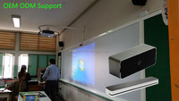 "Smart Board 40"" to 120"" Interactive whiteboard Laser IR board finger touch screen interactive whiteboard for school"
