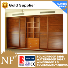 aluminium louvered sliding closet doors