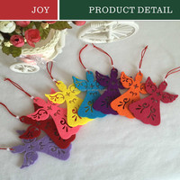 [JOY] Angel Christmas Tree Decoration Colorful Hanging Pendant Hanging Xmas Party Ornament Decor