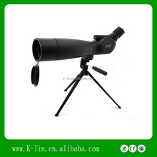Hot Sale Visionking Out Door Powerful Fully Coat Slippery-proof Spotting Scope Monocular 20-60x80 for Watching Birds