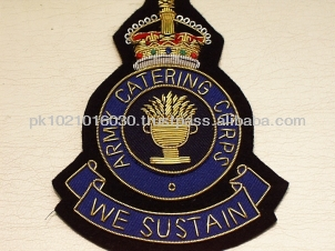Army Catering Corps king crown British regiment badge sialkot badge