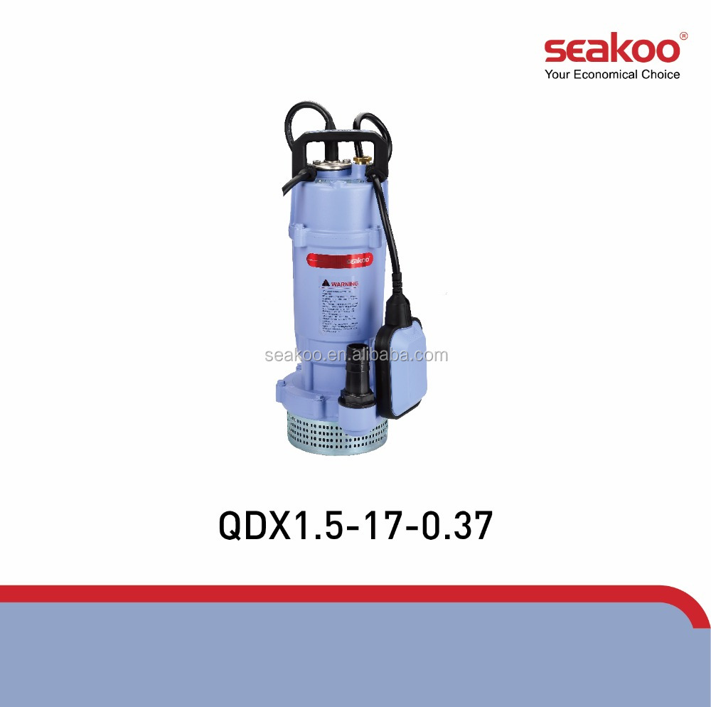 Seakoo 40-6-1.1F 220V/50Hz 1.1KW/1.5HP 3 inch centrifugal submersible pump oem brand Daxi pump with cooper winding