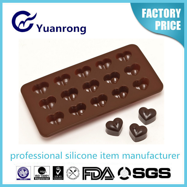 Valentine's Day Sweet Silicon Chocolate Mold