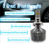 China supplier led headlight top quality Philip.s motorcycle light bulbs 35W 5202 led car headlight