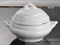 wholesale all size porcelain stoneware earthware bowl with lid