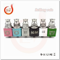 Glt products e-cigarette rda tool kit square hellboy rda atomizer kennedy competition rda