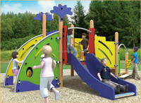 KAIQI classic PE Series KQ50084B residential park kids play place equipment with assured safety