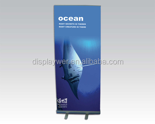 Telescopic Roll Up Banner Flex Roll Up Banner display vinyl banner roll Stand