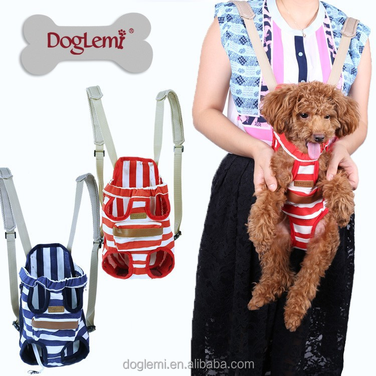 Wholesale Front Chest Carrier for Pet Dog Accessories Product Cheap Dog Backpack Carrier Bag with Mesh Design Dog Sleeping Bag