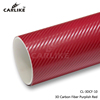 3D Carbon Fiber Purplish Red
