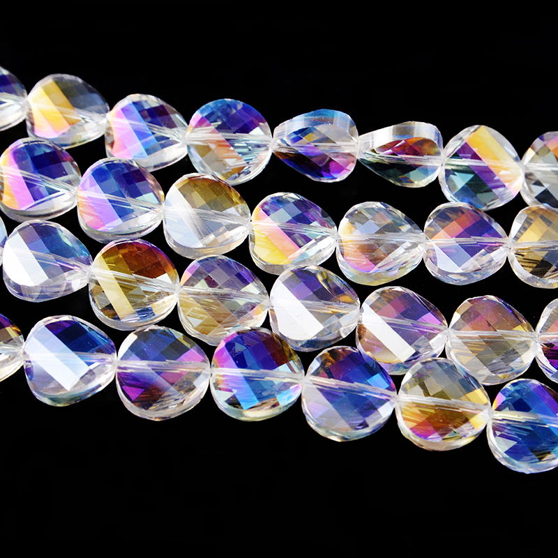 Various Different Shape Of Multicolor Glass Beads Price For Jewelry