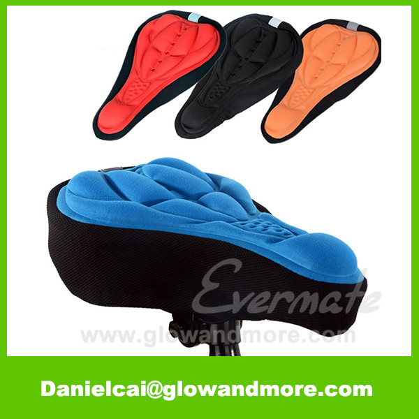 Professinal custom high quality gel bike seat