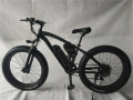 2017 new 26 inch suspension fat tire electric mountain bike 500W Bafang moto and samsung battery 48v/13A ebike