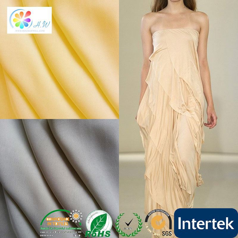 100% lycra material parachute fabric white
