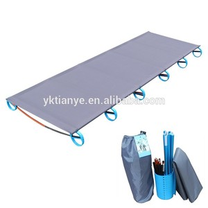 Tianye new made outdoor furniture aluminum folding portable camp bed