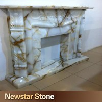 Hot Sale French Onyx Fireplace Mantel