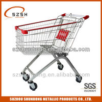 European style grocery shopping buggy/carriage for sale125L