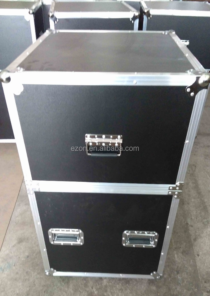 Professional custom aluminum storage flight case rack case,Aluminum tool trolley flight case ,Tools storage aluminum flight case