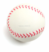 Promotional Baseball Stress Reliever Ball, MOQ 100 PCS One Year Quality Warranty
