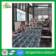 Heat resistant soundproof plastic roof sheet PVC synthetic resin sheet roof tile