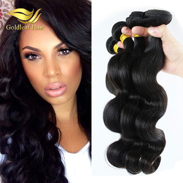100% human hair bundles with lace closure , large stock available for hot sale items