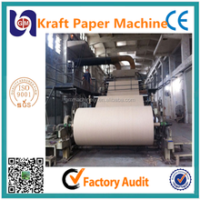 1575mm kraft corrugated coating paper machine carton paper making production line, test liner paper machine price