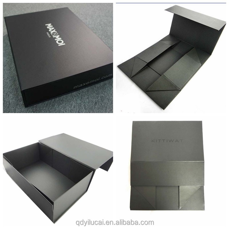 High Quality Custom Logo Foldable Cardboard Gift Packaging Box