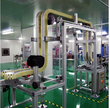 C Type Gripper Conveyor, Bottle Gripper Flexible Conveyor System